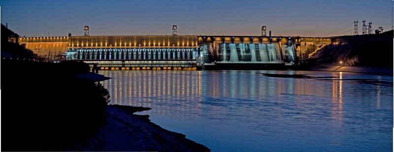 Krasnoyarsk Hydro Electric Power Station
