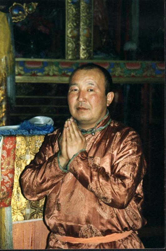 Buryatian Buddhist Monk