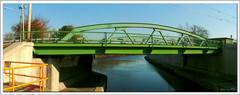 Barge Canal Bridge ~ Baldwinsville, NY