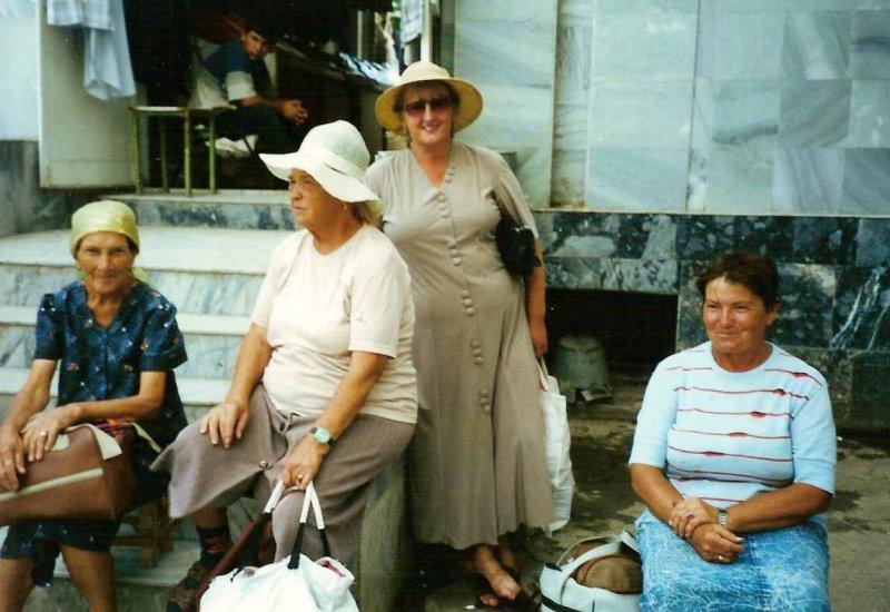 women selling medicines