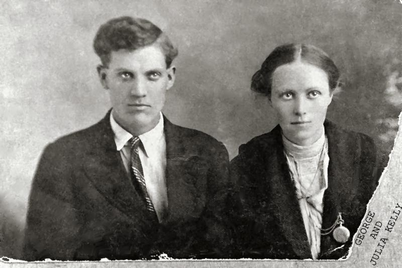 GEORGE AND JULIA KELLY (KELLEY) (GRANDPARENTS)