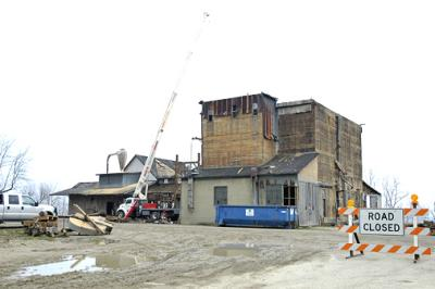PORT HOPE MICHIGAN MILL TEAR DOWN  B