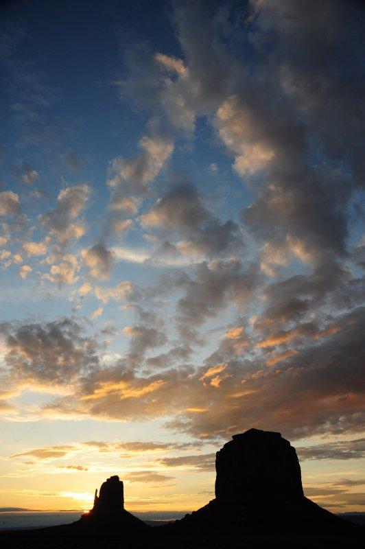 Big Sky at Dusk