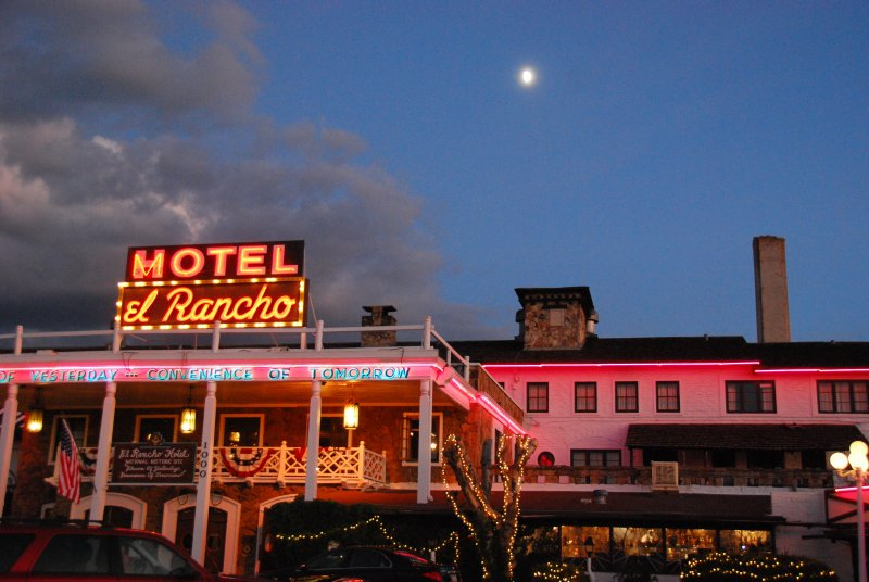 Moon Over the El Ranch Hotel