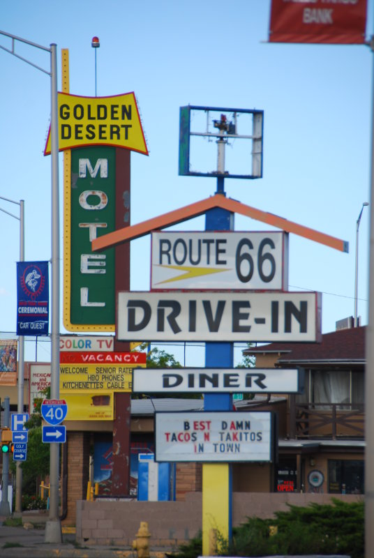 Route 66 Drive In