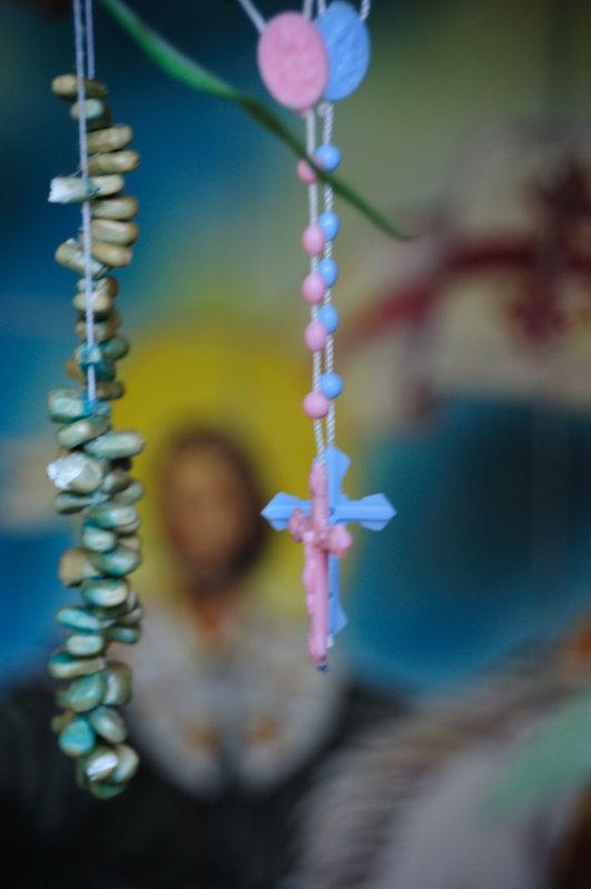 Sanctuario Beads and Crosses