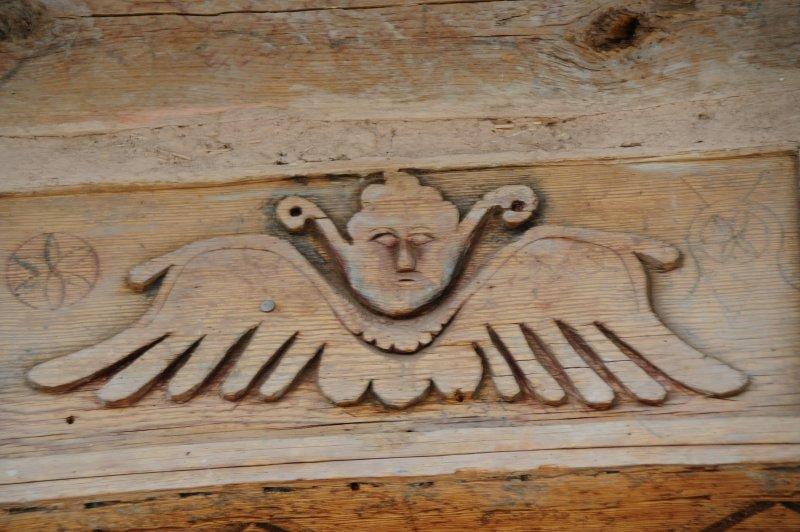 Las Trampas Church Detail