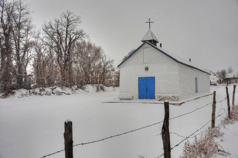 Sangre de Cristo in Winter