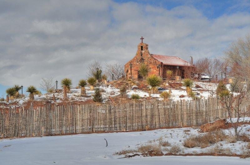 Hillside Chapel near Espanola