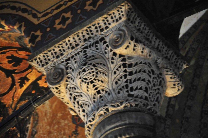 Istanbul Hagia Column