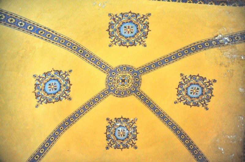 Istanbul Hagia Ceiling