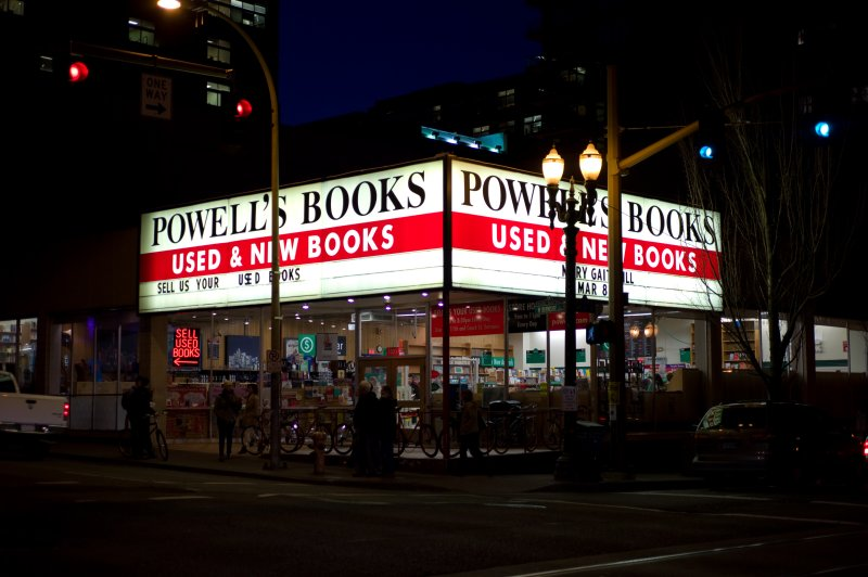 Powells at Night
