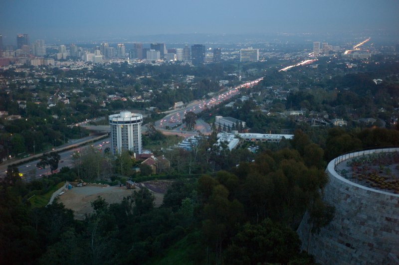 View of the 405