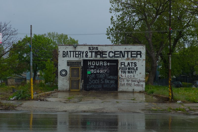 Battery and Tire Center on Halsted
