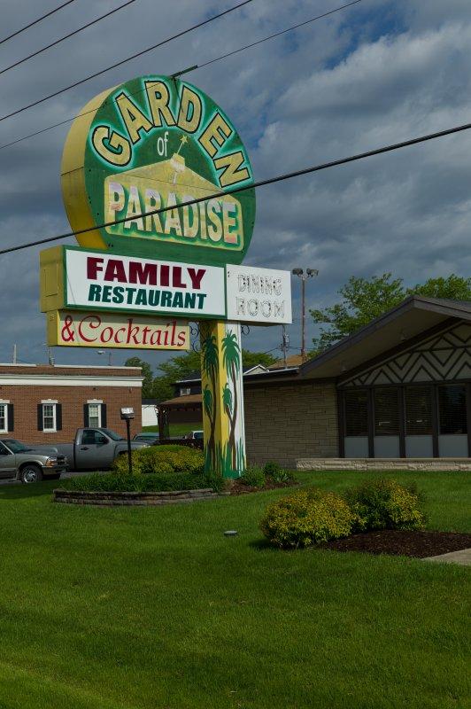 Garden of Paradise Sign