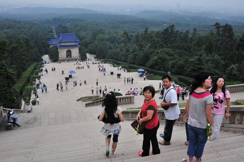 View from Sun Yat-sens Tomb