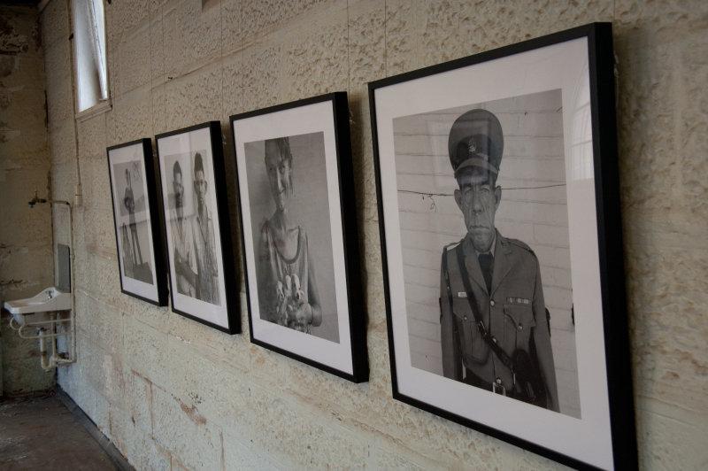 Roger Ballen at Biennale of Sydney