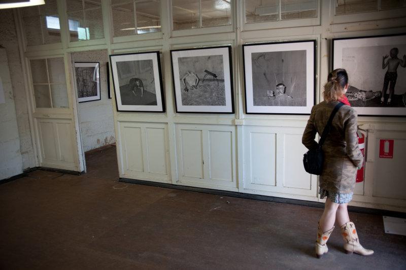 Looking at Ballen at Biennale of Sydney
