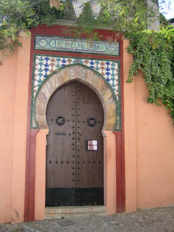 El Albaicín Doorway 02