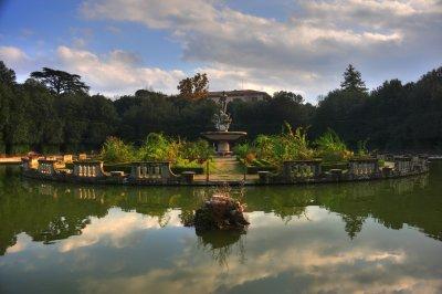 Isola in the Boboli Gardens