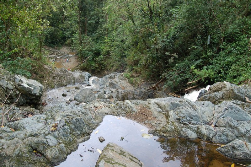 Argyle Waterfall - View from the top