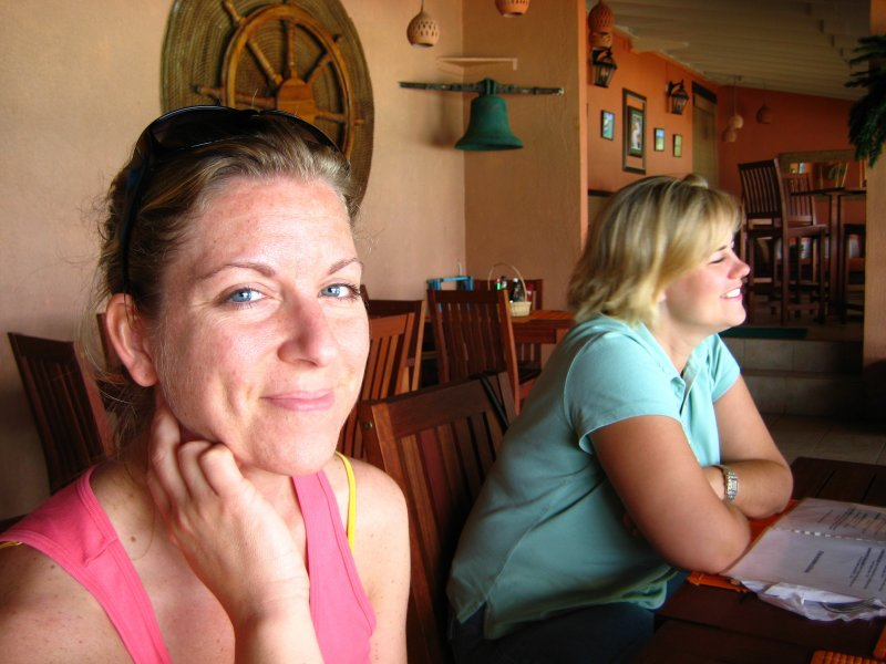 Lunch at Speyside - Aimee and Lorie