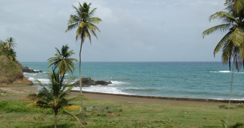 A beach on the drive - Tobago
