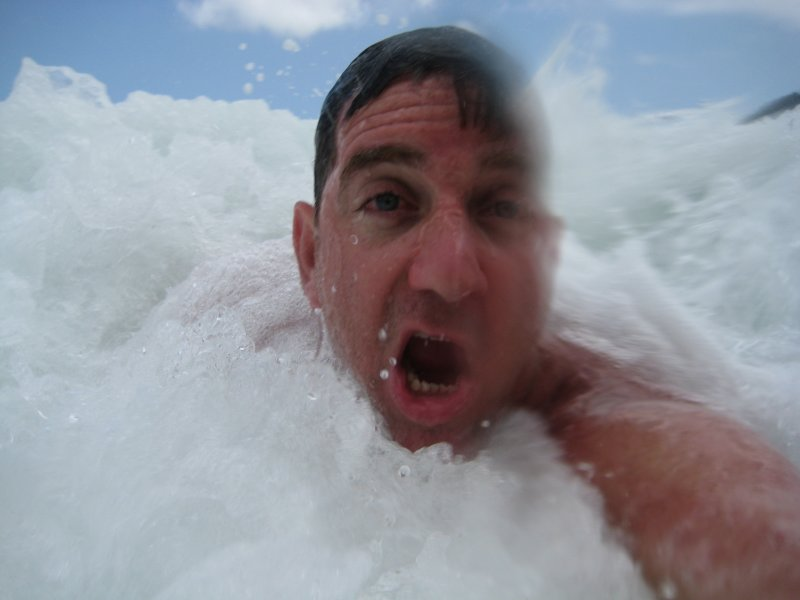 Self Portrait - Body Surfing
