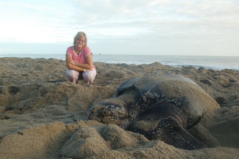 Lorie and Leatherback