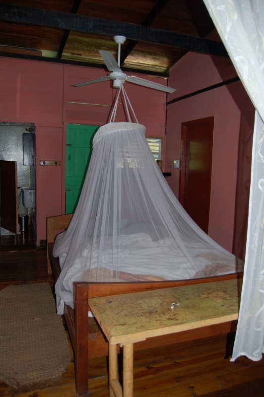 My mosquito netting - Mt. Plaisir - Room 2