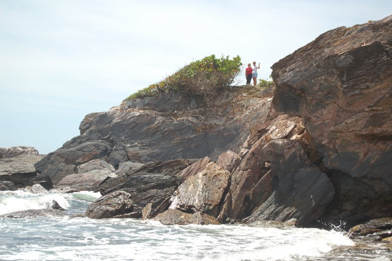 Lorie and Aimee on the Rocks