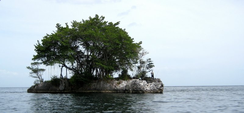 Small Island Fisherman