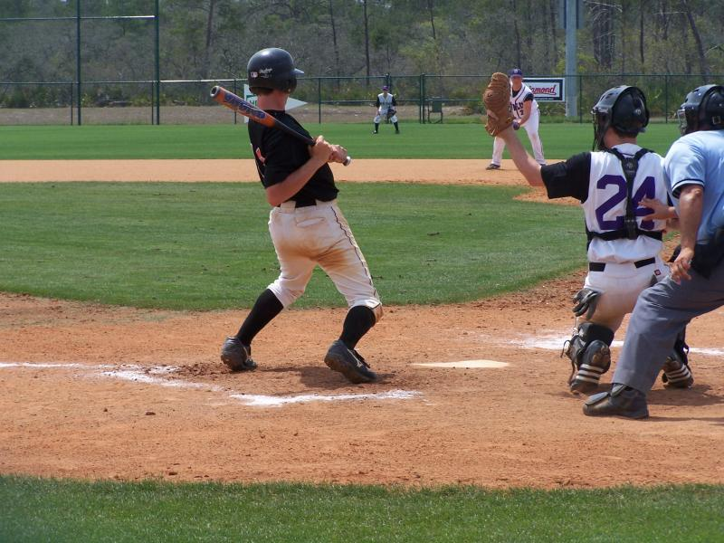 kenny m. at the plate