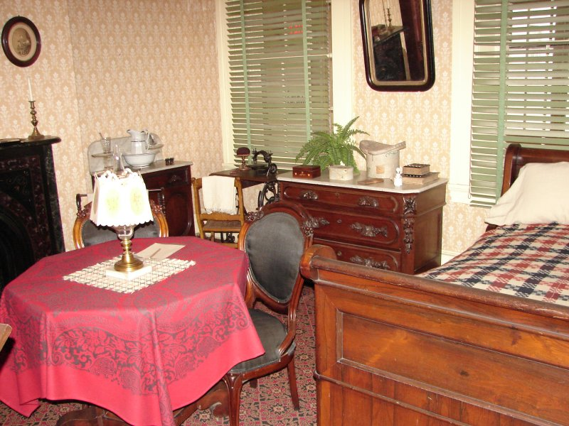 Temporary Seat of Government while Lincoln was being cared for