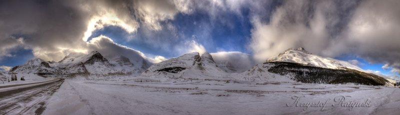 Columbia Icefields - Jan 09 2010