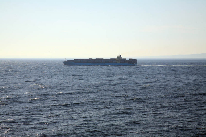 Container Ship Overtaking Us