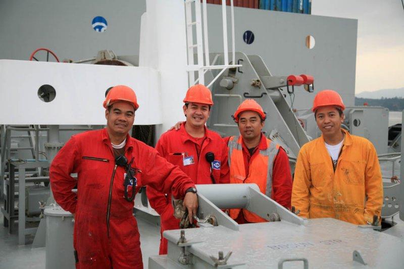 Forward Deck Crew