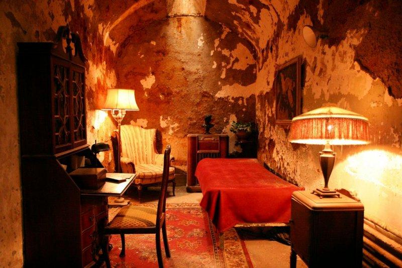 Al Capones cell (restored)