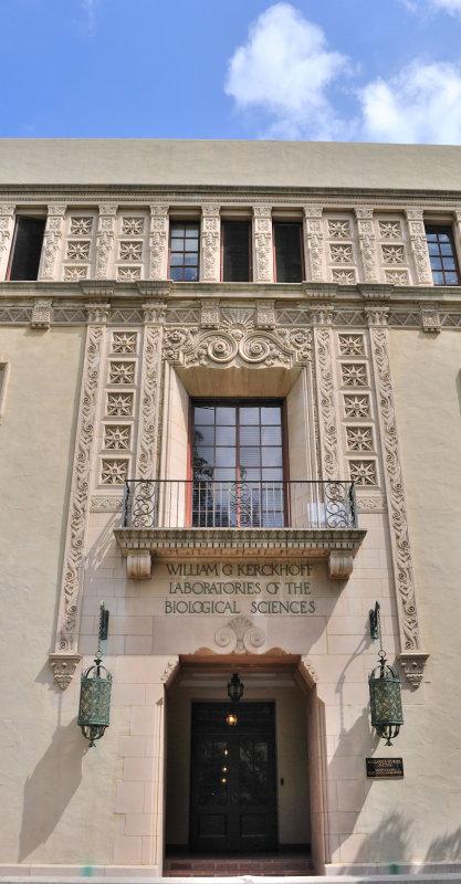 Cal Tech Kerckhoff Laboratory