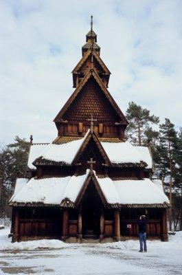 Norsk Folkemuseum, mars 2010
