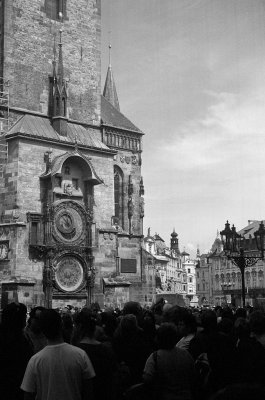 Den berømmelige astronomiske klokken