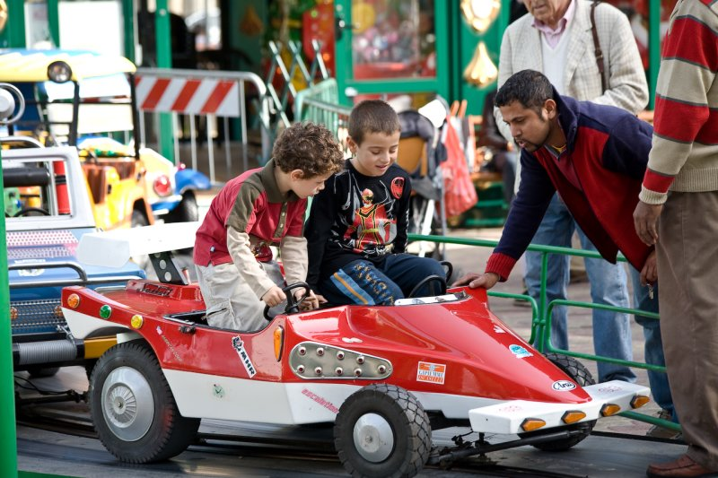 Roman drivers in training