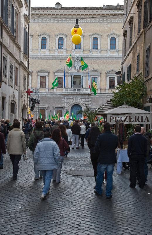 green demonstration