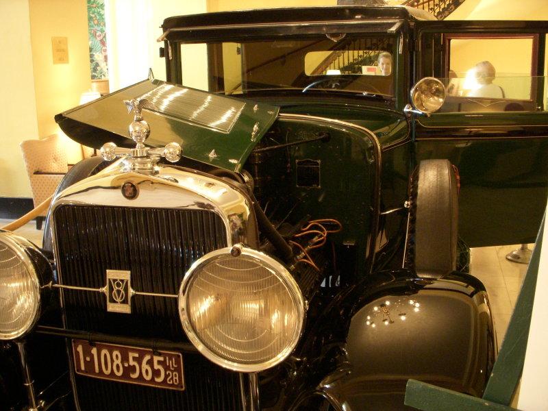 Hot Springs - Al Capones car