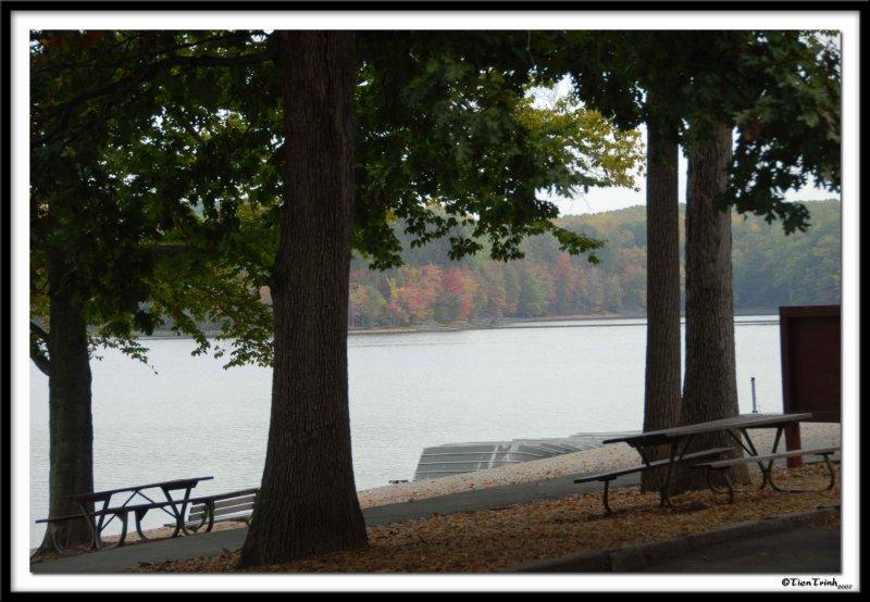 Burke Lake in Autumn