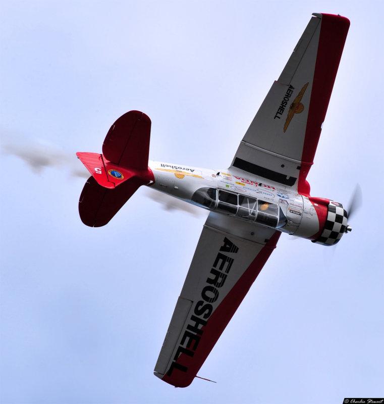 Gene McNeely - T-6 Texan - Team Aeroshell