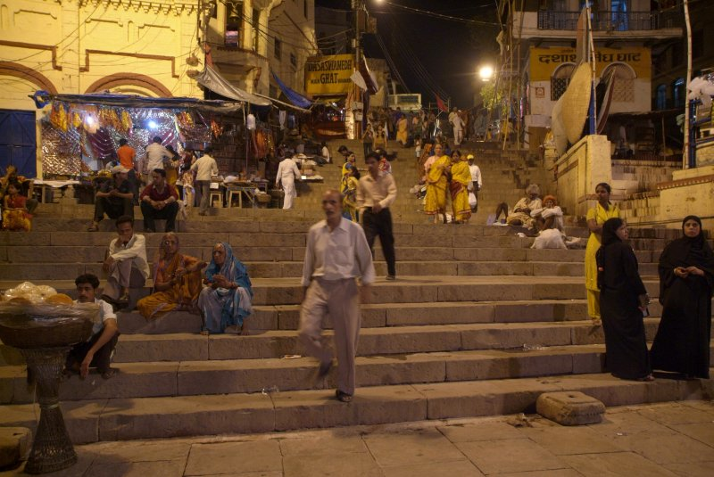 Steps to Main Ghat