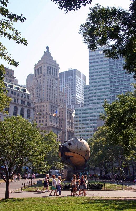 World Sculpture after 911 World Trade Center Tragedy