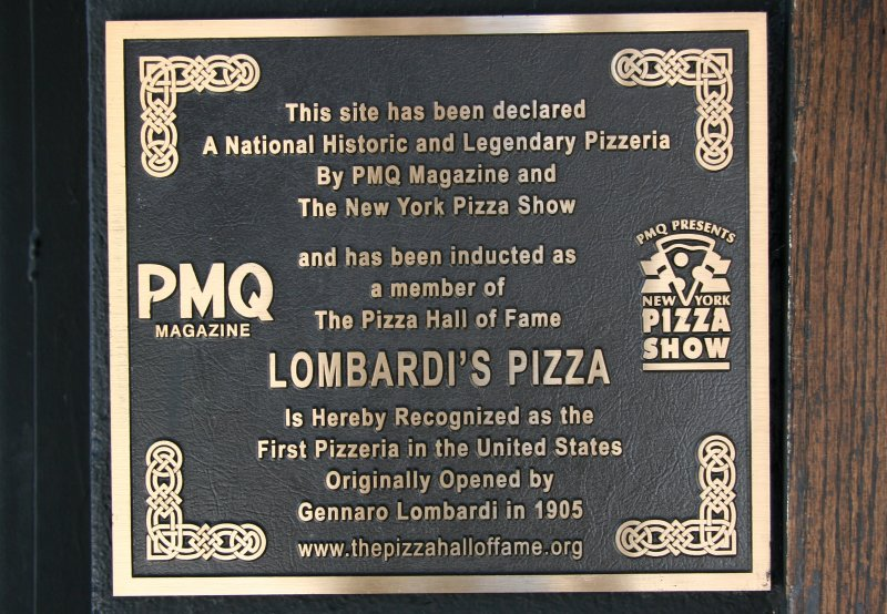 Lombardis Pizza Marker