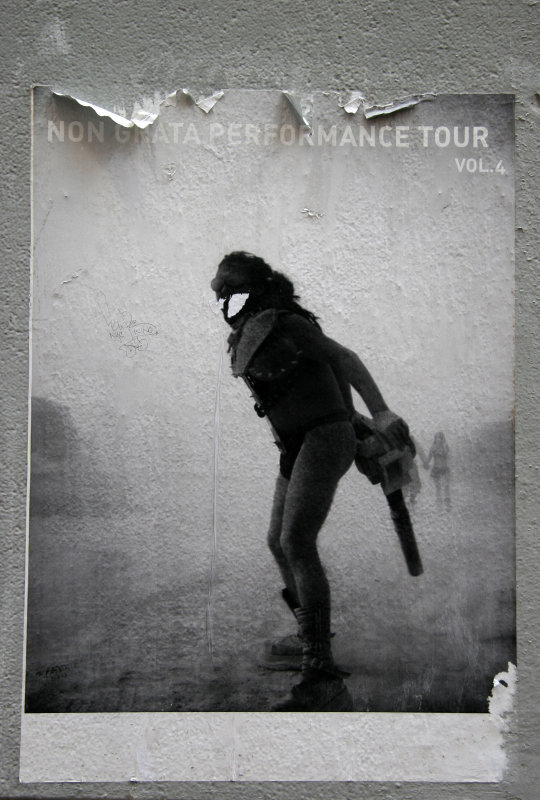 Non Grata Performance Tour Poster